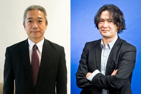 (左)日経MJ編集長 半澤二喜氏(右)日経トレンディ編集長 佐藤央明